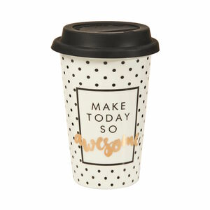 Butlers Coffee Deluxe Kaffeebecher To Go 400 ml weiß