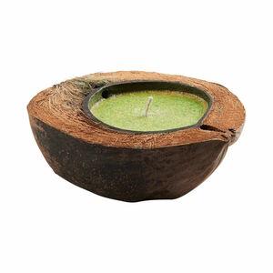 Butlers Coco Jambo Kokosnuss Kerze grün