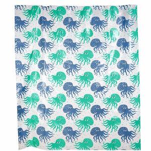 Butlers Wet Wet Wet Duschvorhang Jellyfish bunt