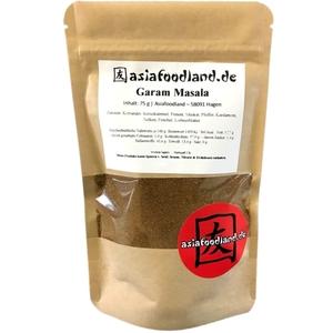 Asiafoodland Garam Masala Gewürzmischung 75g