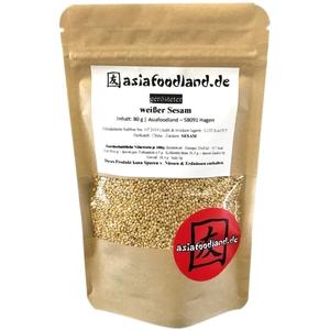 Asiafoodland gerösteter weißer Sesam 80 g
