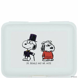 Butlers Peanuts Brotdose Dr. Beagle & Mr. Hyde weiss