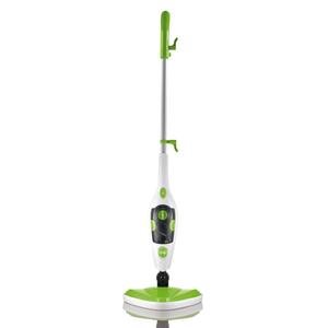 CleanMaxx Dampfbesen 3in1 limegreen/weiß 1500W