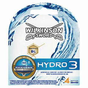 Wilkinson Hydro 3 Rasierklingen jede 4er-Packung