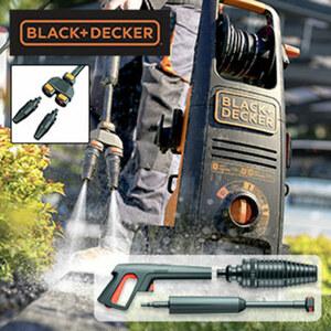 Hochdruckreiniger BXPW2700DTS Druck max. 160 bar, Leistung 2.700 Watt, Abschalt-Automatik, inkl. Wasserfilter, Spray-, Rotationsdüse