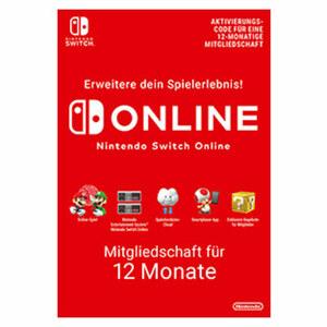 Nintendo Online Mitgliedschaft für 12 Monate
