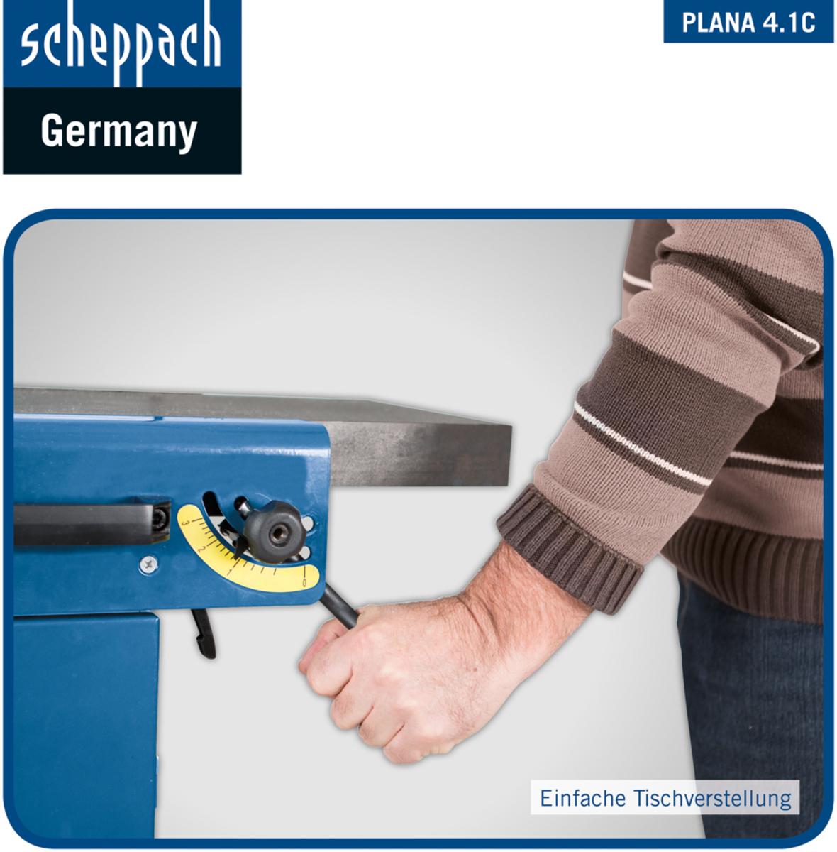 Bild 3 von Scheppach Abricht-Dickenhobel Plana 4.1c 230V/50Hz 2.5 kW