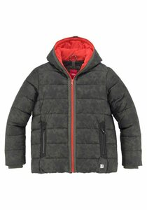 s.Oliver Junior Winterjacke in coolem Tarnmuster