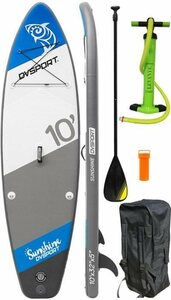 DVSPORT Inflatable SUP-Board »DVSport Stand-up-Paddleset Sunshine«