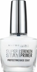 MAYBELLINE NEW YORK Unterlack »Superstay Nagelpflege Strength Primer Base Coat NU 02«