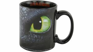 Dreamworks Motiv Tasse Dragons Ohnezahn & Hicks