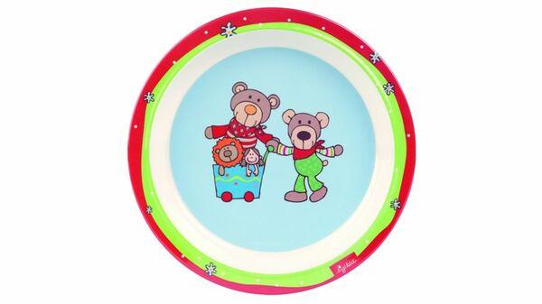 sigikid - Melamin-Teller Wild and Berry Bear