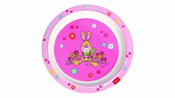 sigikid - Melamin-Teller Bungee Bunny