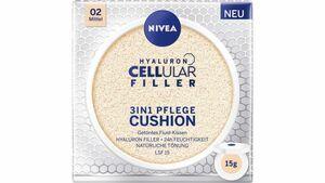 NIVEA Hyaluron Cellular Filler 3in1 Pflege Cushion Mittel LSF15