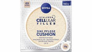 NIVEA Hyaluron Cellular Filler 3in1 Pflege Cushion Dunkel LSF15