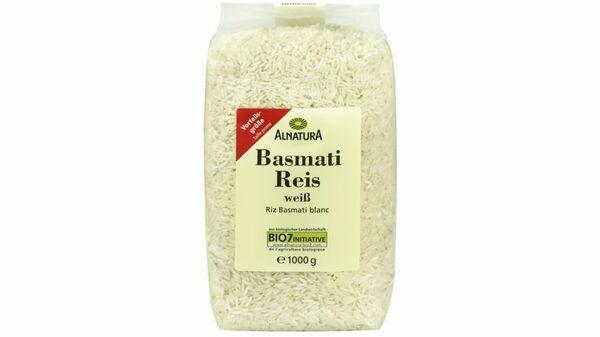 Alnatura Basmati Reis, weiß