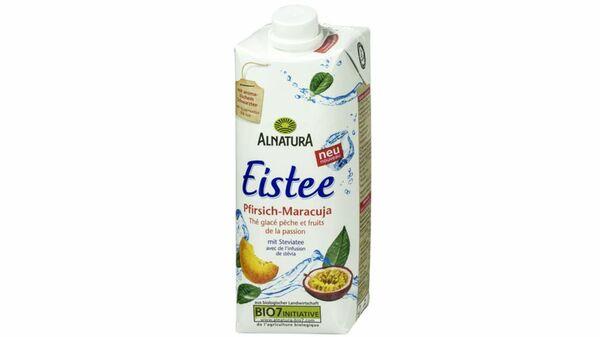 Alnatura Eistee Pfirsich-Maracuja