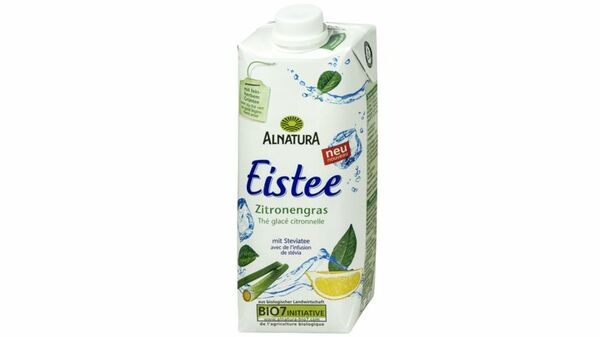 Alnatura Eistee Zitronengras