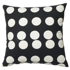 KLARASTINA                                Kissenbezug, schwarz, weiß, 50x50 cm