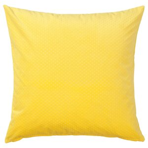 VENCHE                                Kissenbezug, leuchtend gelb, 50x50 cm