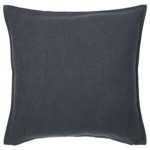 JOFRID                                Kissenbezug, dunkel blaugrau, 50x50 cm