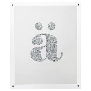 FORNBRO                                Rahmen, farblos, 40x50 cm