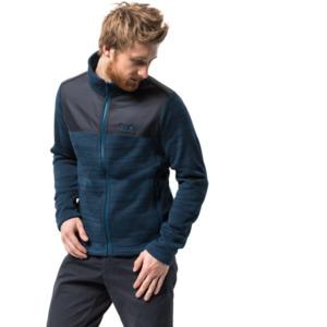 Jack Wolfskin Fleecejacke Männer Aquila Jacket Men XL blau