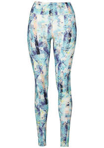 O´Neill Print High Rise - Leggings für Damen - Blau