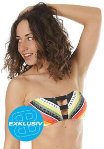 Rip Curl Beach Bazaar Bandeau - Bikini Oberteil für Damen - Mehrfarbig