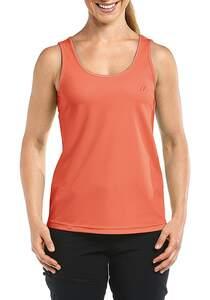 Maier Sports Petra - Outdoorshirt für Damen - Orange