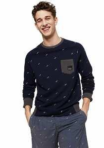 O´Neill Printed Crew - Sweatshirt für Herren - Blau