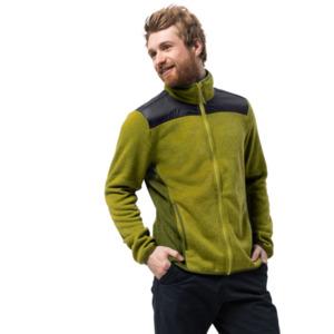 Jack Wolfskin Fleecejacke Männer ELK Lodge Jacket Men XL grün