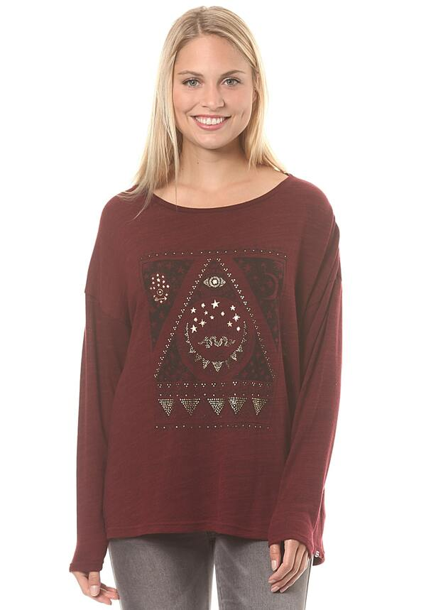 buy popular df3e0 4fe18 BILLABONG Magical Winter - Strickpullover für Damen - Rot