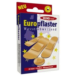 Europflaster 20 Stück wasserabweisend