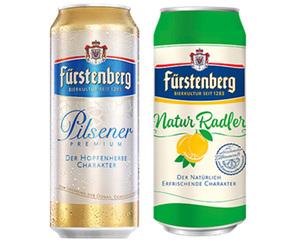 Fürstenberg Pilsener oder Natur Radler