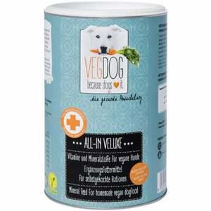VEGDOG ALL-IN-VELUXE Mineralpulver für selbstgekochte R 47.98 EUR/1 kg