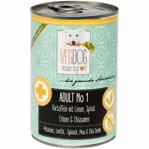 VEGDOG ADULT No 1 Kartoffeln mit Linsen, Spinat, Erbsen 8.23 EUR/1 kg