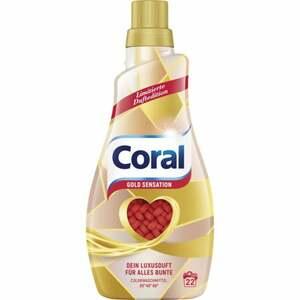 Coral Flüssigwaschmittel Gold Sensation, 22 WL 0.15 EUR/1 WL
