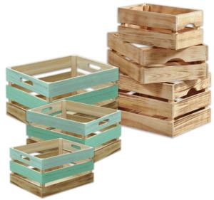 KESPER Aufbewahrungs-und-Deko-Kisten