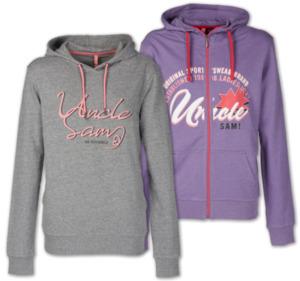 UNCLE SAM Damen-Sweatshirt oder -Jacke