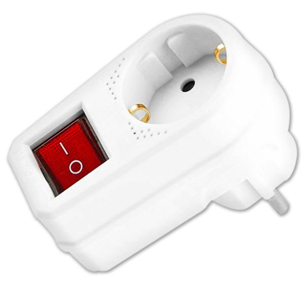 HOME IDEAS LIVING Schutzkontakt-Adapter