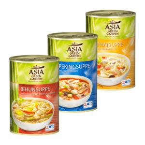 ASIA GREEN GARDEN     Fernöstliche Suppe