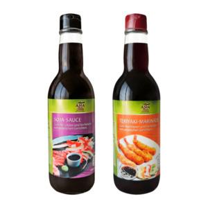 ASIA GREEN GARDEN     Soja-Sauce / Teriyaki-Marinade