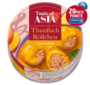 TASTE OF ASIA Thunfisch Röllchen