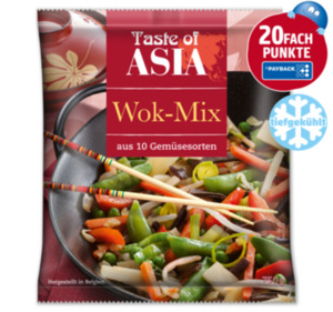 TASTE OF ASIA Wok-Mix