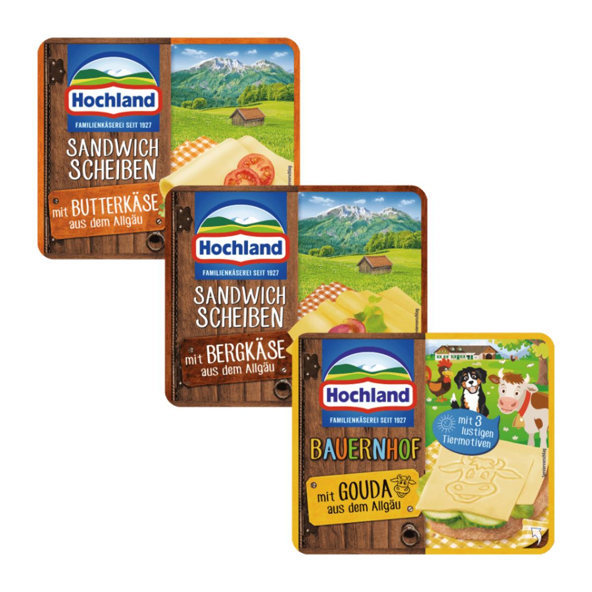Bild 1 von Hochland Sandwich Scheiben