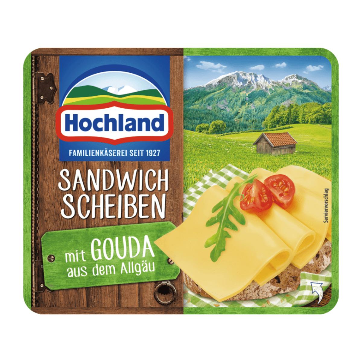 Bild 2 von Hochland Sandwich Scheiben