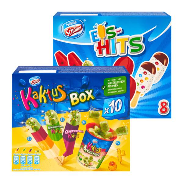 Schöller Kaktus Box / Eis-Hits