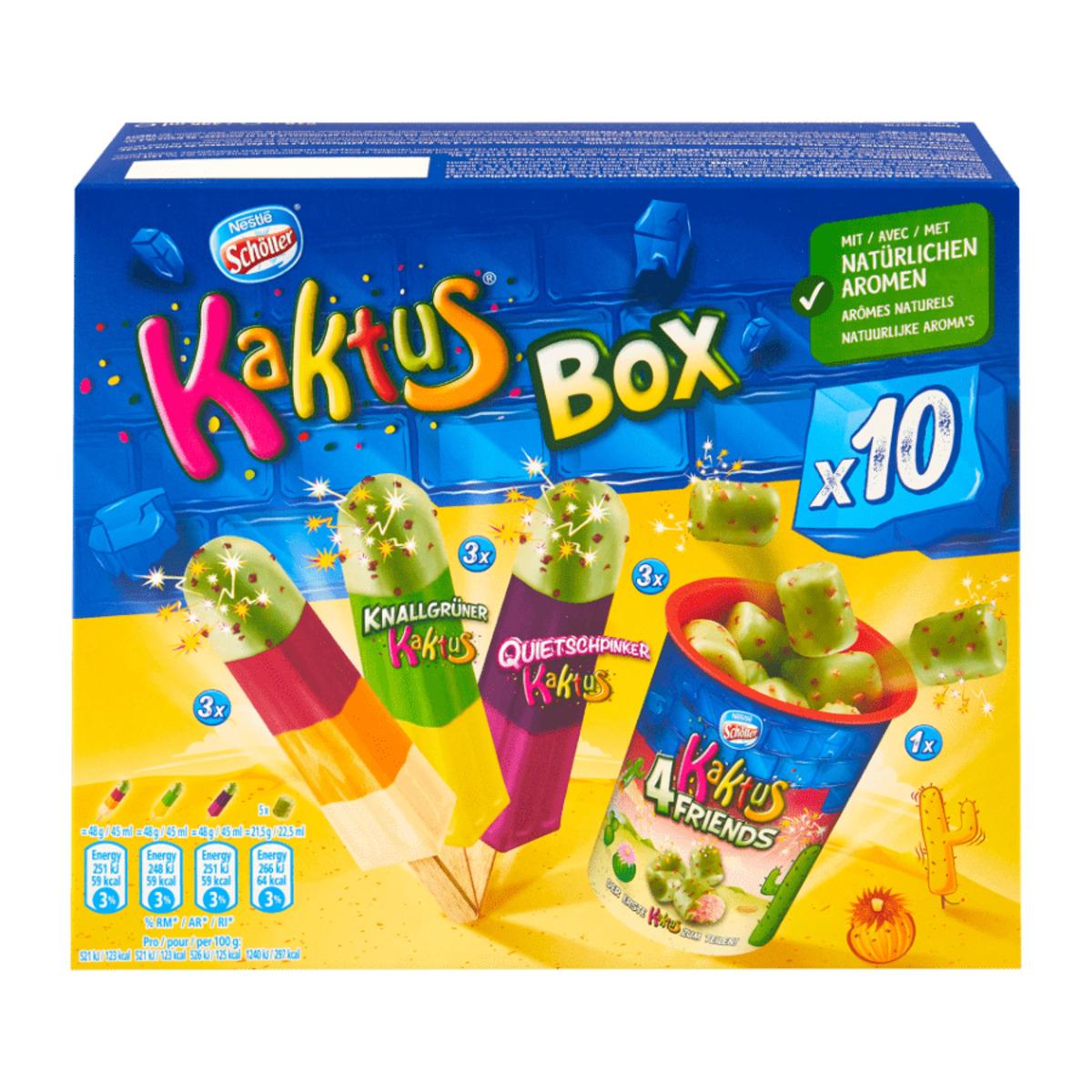 Bild 2 von Schöller Kaktus Box / Eis-Hits