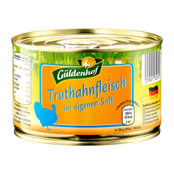 GÜLDENHOF     Truthahnfleisch
